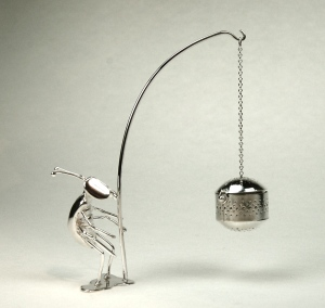 Fishing Fred silver tea infuser