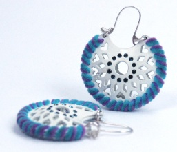 Earrings by Ciara Judith Bowles