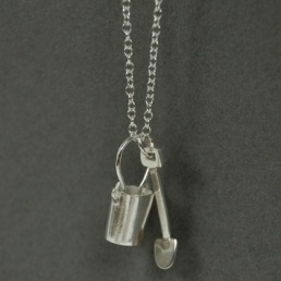 Bucket and Spade Pendant