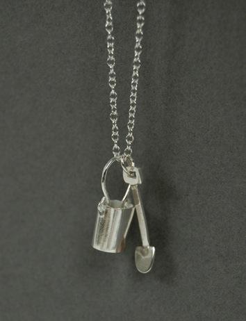 Bucket and Spade Pendant