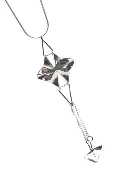 Origami pendant.